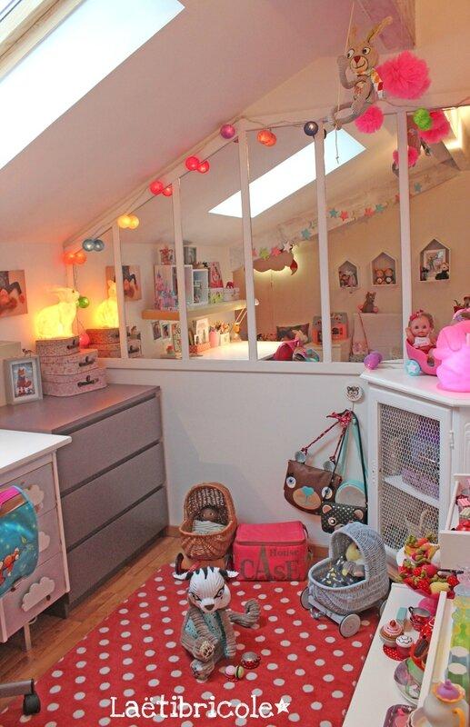 La nouvelle chambre de ma laetibricole for Amenager petite chambre 7m2