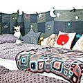Sweet dreams baby: le tour de lit patchwork tout récup'