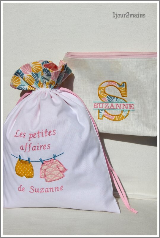 trousse + sac suzanne