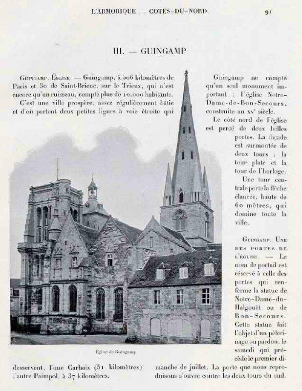Eglise de Guingamp