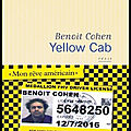 Yellow cab - benoît cohen - editions flammarion