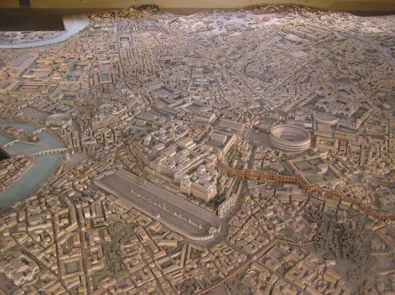 Rome maquette
