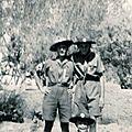 Eclaireurs unionistes avec maurice calas 1947- 50