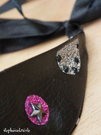 tuto customiser un bandeau, diy heabdband