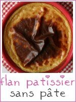 flan patissier - index