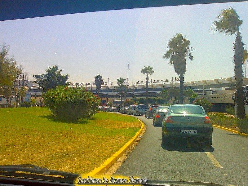Aéroport Mohammed V Terminal Départ A Casablanca