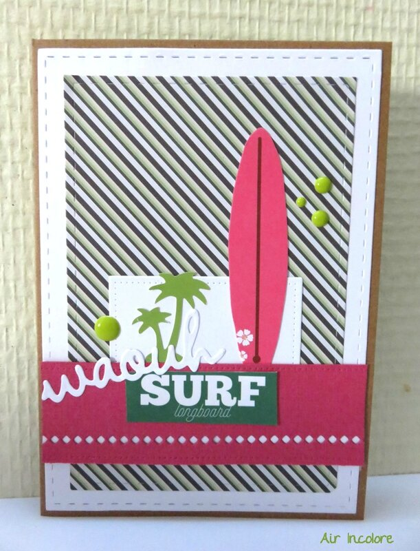 Carte surf and adventure