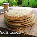 Pancakes américains (à la farine de maïs)