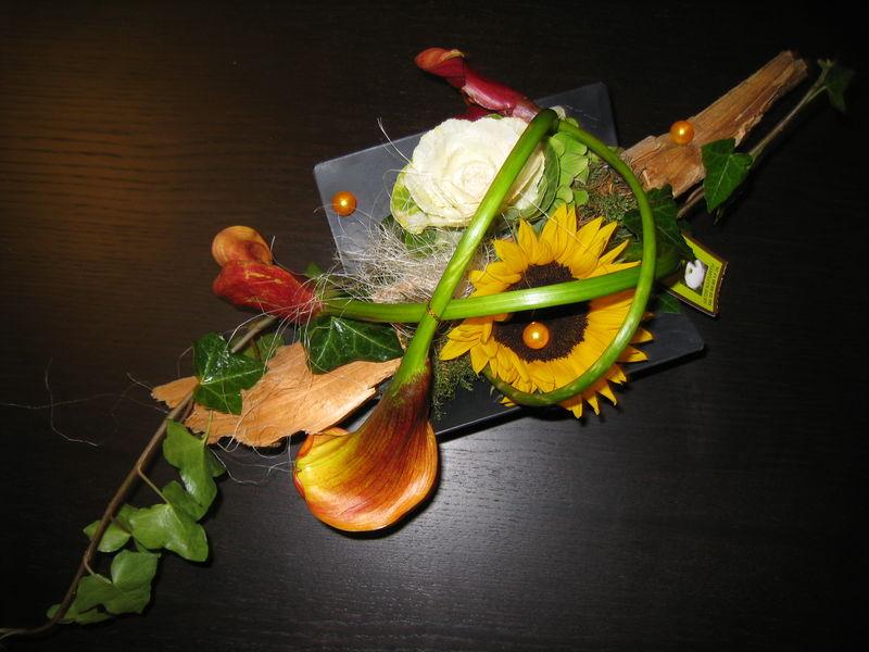Une magnifique composition florale pour d buter l 39 automne l 39 atelier de zine - Composition florale automne ...