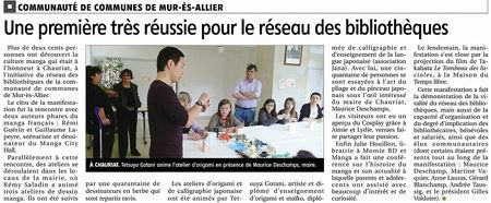 s-article de journal La Montagne 03052013