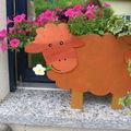 Jardinière nouton en bois, Louise 2008