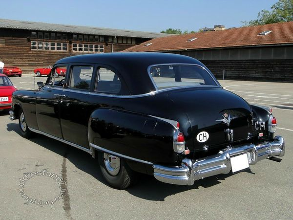 chrysler crown imperial limousine 1953 4