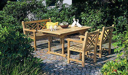 Salon jardin bois pas cher meubles de jardin soldes | Maisondours