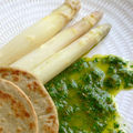 Sauce  la roquette pour les asperges