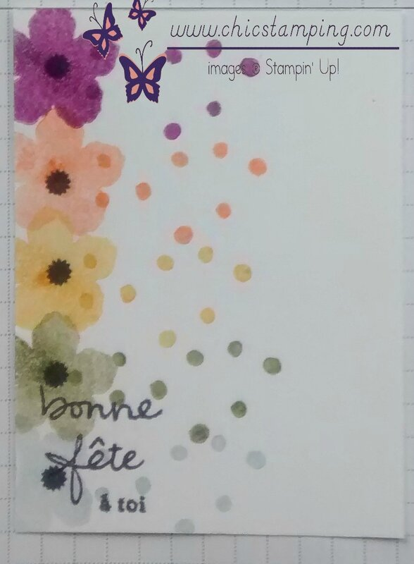 DIY project life card series bontanical bloom #3
