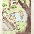 Adam et eve (mais puisque je vous dis que j'lis l'nouveau testament !)
