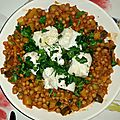 Couscous tunisien au filet de cabillaud