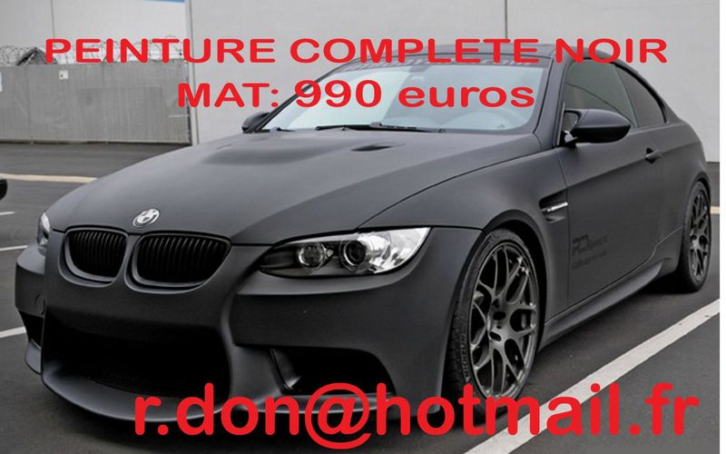 bmw serie 3 bmw serie 3 bmw serie 3 total covering noir mat bmw serie 3 peinture covering. Black Bedroom Furniture Sets. Home Design Ideas