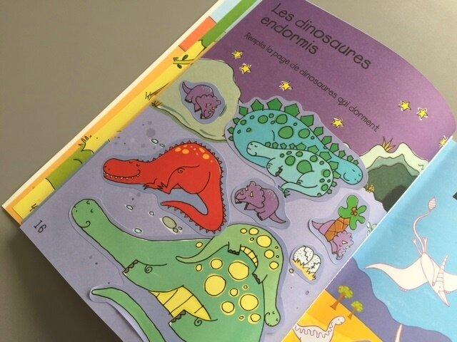colo et autocollants les dinosaures 4