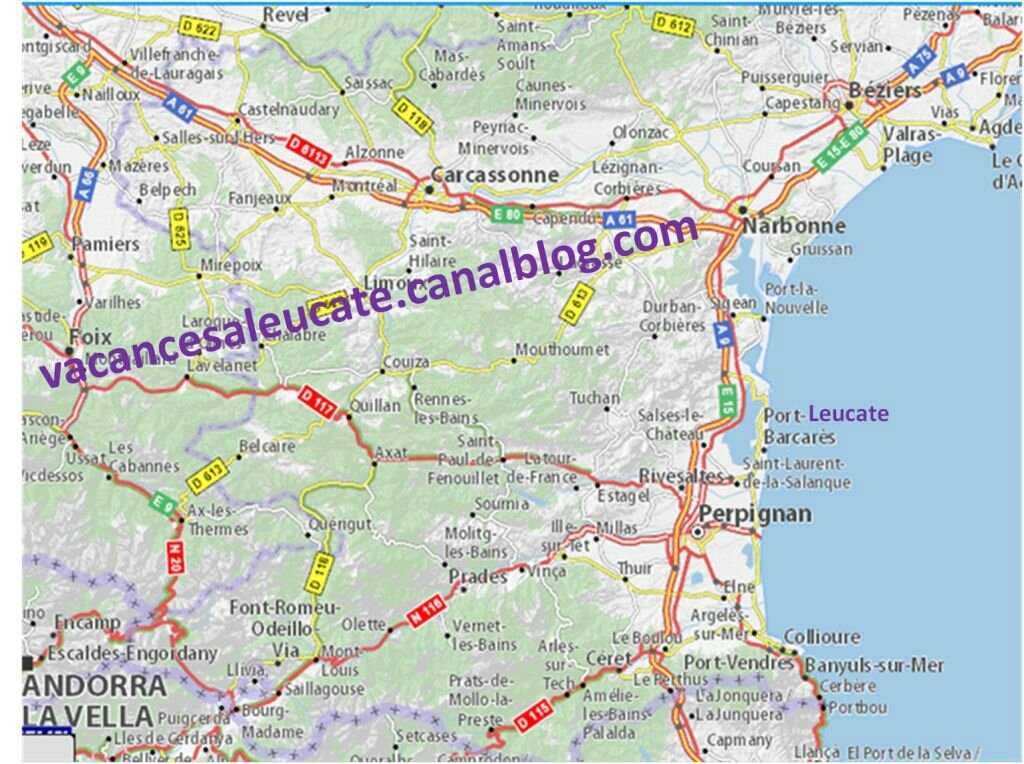 Locations de vacances port leucate - Port leucate office du tourisme ...