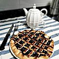 Tarte aux myrtilles - compilemoi un menu
