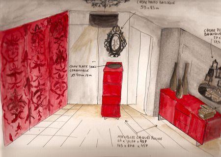 Un Hall D 39 Entr E Baroque Et Contemporain Une Very