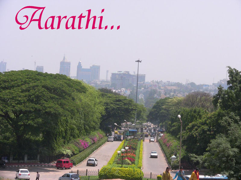 Photo taken from the top of LalBagh Rock.