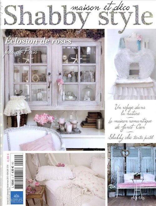 grange de charme dans le magazine shabby style grange de charme. Black Bedroom Furniture Sets. Home Design Ideas