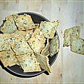 Crackers a la courge