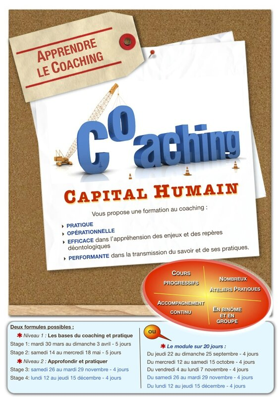 Formation au coaching