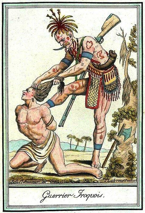 23 - Guerrier iroquois