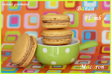 MACARON_BANANE_FLAMBEE