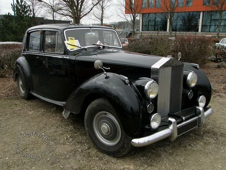 rolls royce silver dawn 1949 1955 salon champenois vehicule de collection reims 2012 3