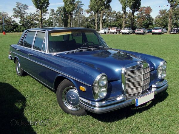 mercedes benz 300 sel version us 1968 1972 a