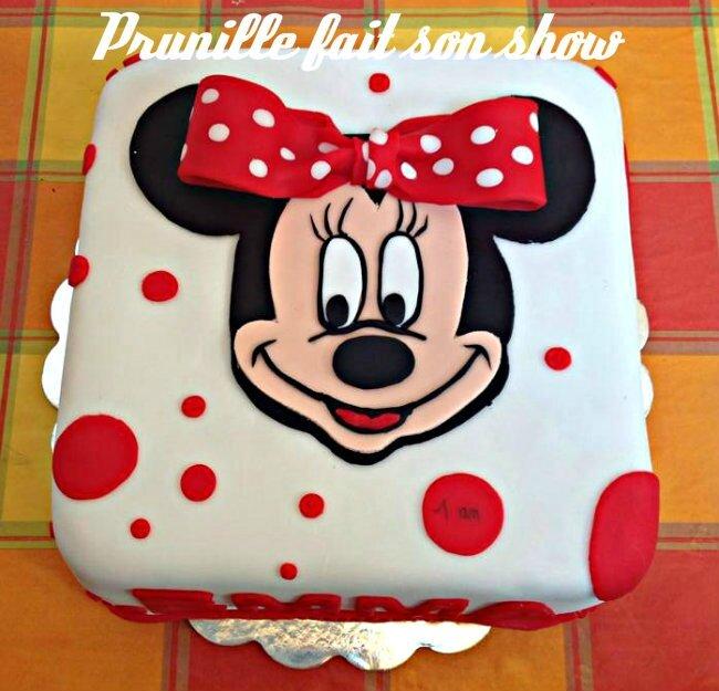 Gateau d anniversaire minnie recette arts culinaires magiques - Gateau mickey facile ...