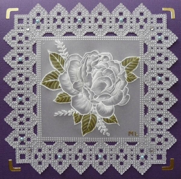 Carte rose pergamano