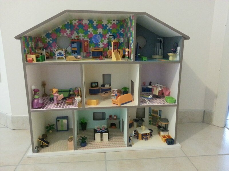 comment construire une maison playmobil ij16 jornalagora. Black Bedroom Furniture Sets. Home Design Ideas