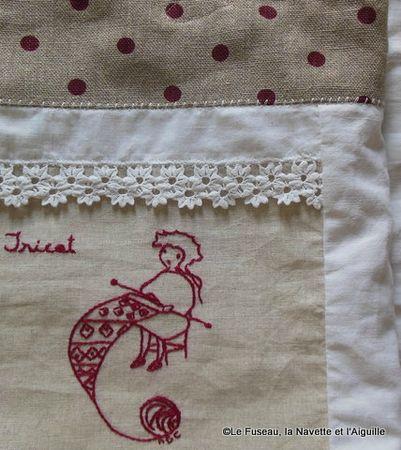1-sac dentelle tricot 10