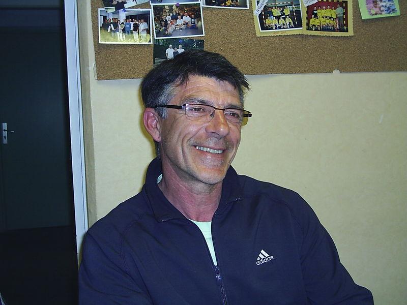 Philippe, Vice président, responsable sportive jeune et technique.
