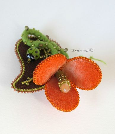 Fleur orange (5)