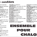 Liste Reyssier municiaples de 1989 2ème tour