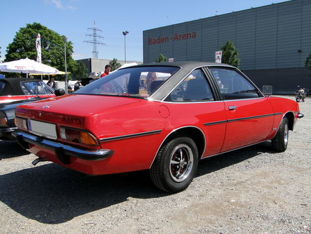 OPEL Manta B Berlinetta 1975 1982 RegioMotoClassica 2010 2