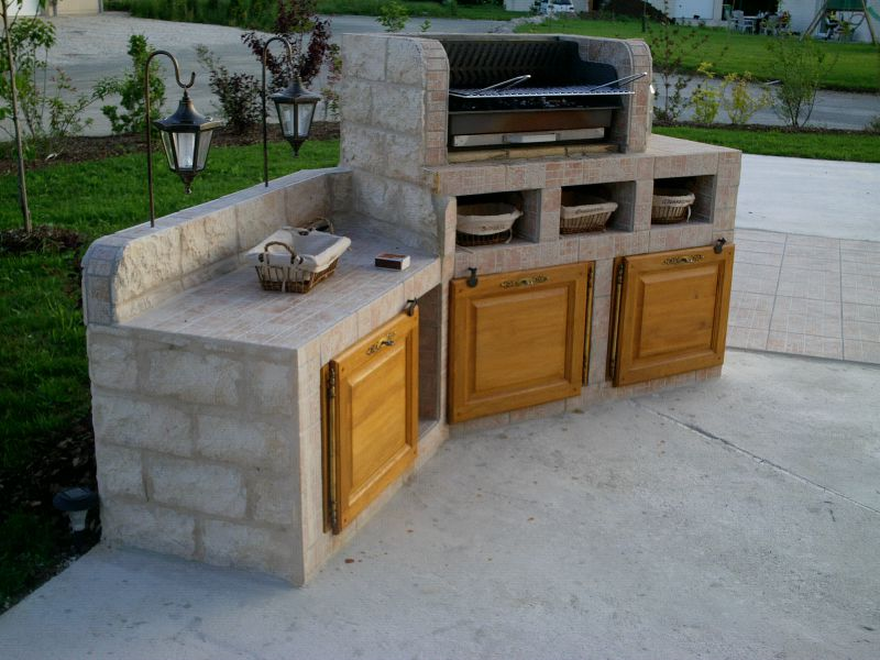 3 fin 17 photo de barbecue el matos constructions et passions - Barbecue beton cellulaire exterieur ...