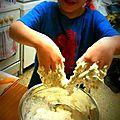 Petits pains fantaisies, graines de sésame et pavot