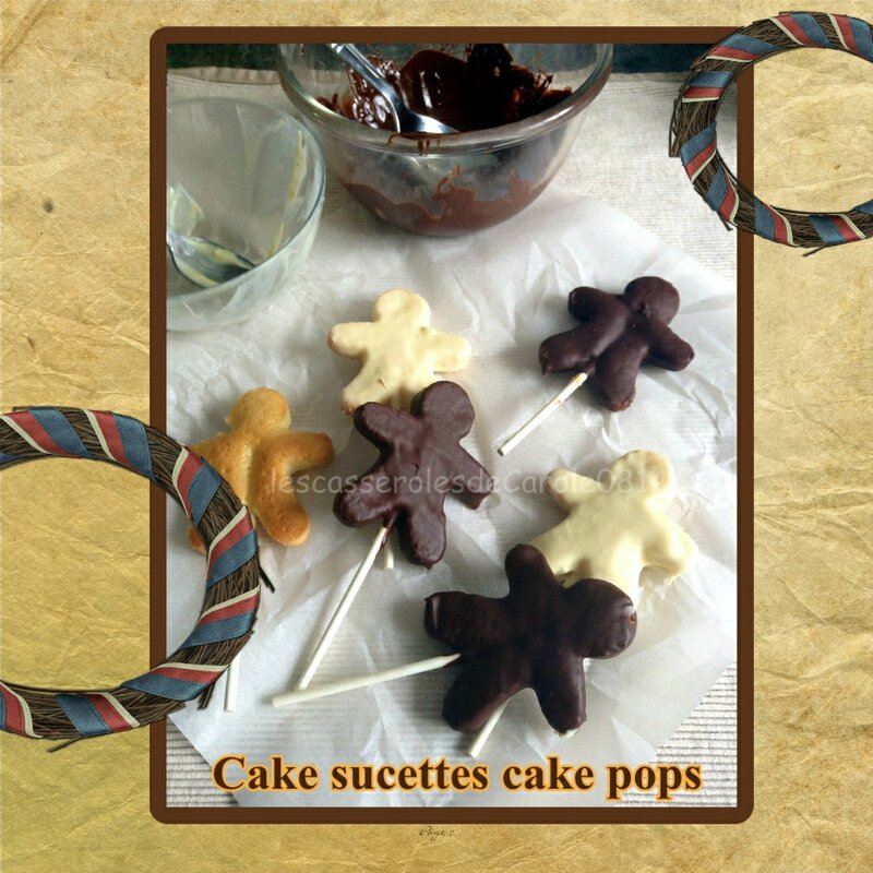 cake pop cake sucettes (scrap)