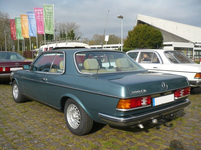 MERCEDES 300 CD W123 coupé Ludwigshafen (2)