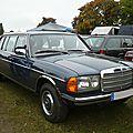 MERCEDES 250 W123 limousine 1983 Mannheim (1)