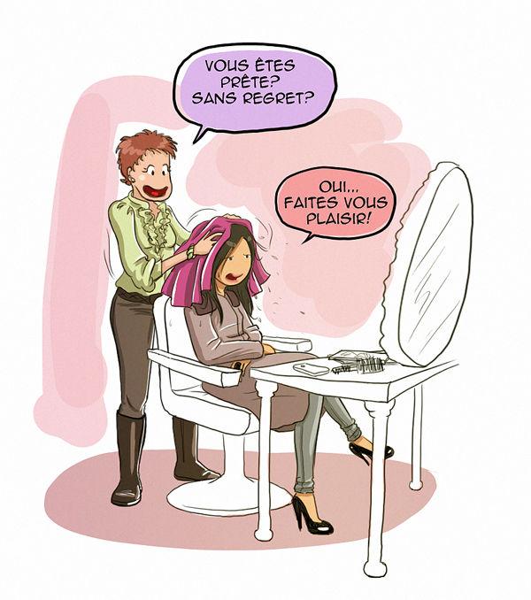 Souvent Le Beugg chez la coiffeuse - Didpaddle et sa drôle de Life LM27
