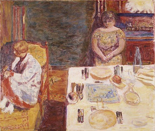 Pierre Bonnard - Before Dinner