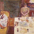 Pierre Bonnard - Before Dinner